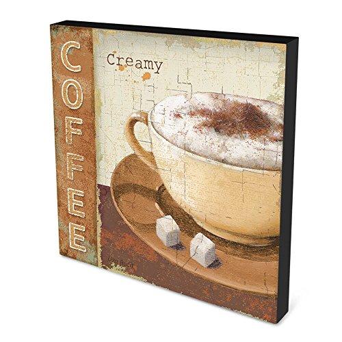 Quadro em Canvas 30x30cm Creamy Coffee