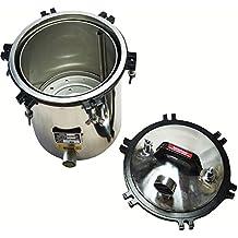 Creation Core 4.7 Gallon Steam Sterilizer Portable 18L Steam Autoclave Sterilizer Stainless Lab Equipment