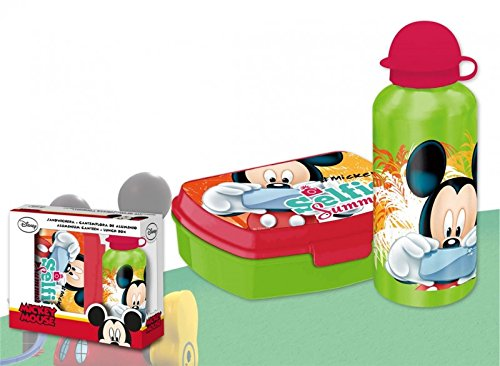 Mickey Mouse – Set Canteen and Sandwich Maker (Kids Euroswan -