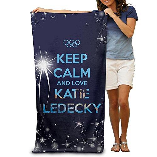 ^GinaR^ 300g Katie Ledecky Absorbent Luxury Beach Towel