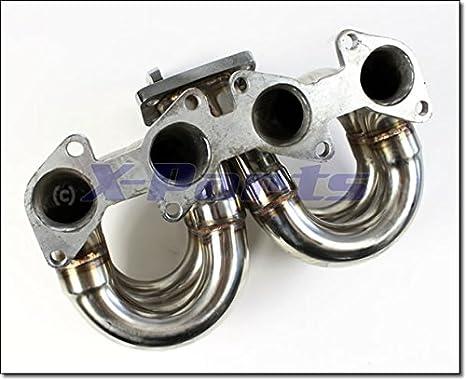 Turbo - Colector 16 V Brida Tubo de acero inoxidable turbo - Colector 1,8 2,0 16 V WG 1034065: Amazon.es: Coche y moto