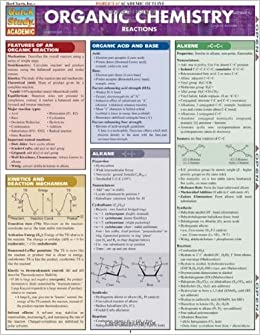 Organic Chemistry Reactions (Quickstudy: Academic): Inc. BarCharts ...