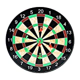 LoveisCool 17'' Magnetic Dart Board with 12