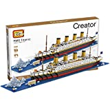 LOZ Building & Construction 9389 Titanic Building Blocks (1860 Pieces)