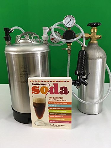 Farmer's Market Seltzer Making Kit and Soda Book by Portable Seltzer Kit