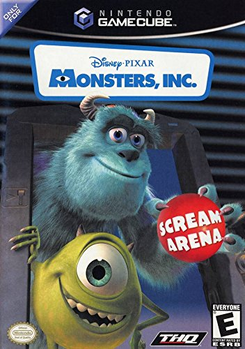 Monsters Inc. Scream Arena - Gamecube