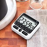 KTKUDY Digital Kitchen Timer with Mute/Loud Alarm