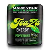 Teaza Herbal Energy Pouch Peppermint – 12 Flip Tops