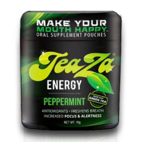 Teaza Herbal Energy Pouch Peppermint - 12 Flip Tops
