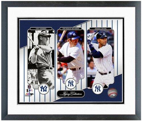 Derek Jeter Lou Gehrig Thurman Munson MLB Photo (Size: 12.5