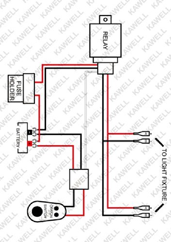 51mHpUCceAL kawell� universal 2 lead led light bar wiring harness kit with led light wiring harness at readyjetset.co