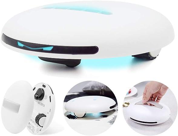Aspirador de mano de ácaros, colchón, aspirador automático, robot profesional, hotel, luz UV, aspirador de alérgenos, optimizado para sofá, alfombra, peluche: Amazon.es: Hogar