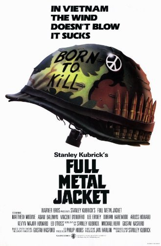 Full Metal Jacket POSTER Movie (27 x 40 Inches - 69cm x 102cm) (1987) (Metal 27)