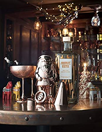 Cherish Style and Originality Perfect Gift Multiple Uses Elyx Boutique Copper Gnome Cocktail Shaker Gift Box 7.44 oz