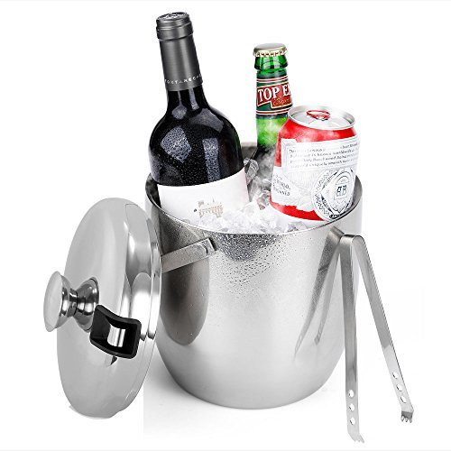 ice bucket with lid for freezer - 1