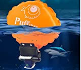 Puffer Wearable Portable Rescue Device Float Wristband Lightweight Water Buoyancy Aid Device for Adult Kids&New Swimmers Drowning with Inflatable Gasbag Swimming Safety Device