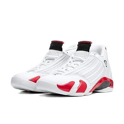 best loved 4ee98 d0d1b Amazon.com | Nike Air Jordan XIV 14 Retro Candy Cane RIP ...