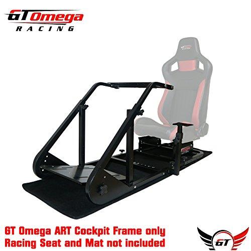 GT OMEGA ART RACING SIMULATOR COCKPIT FRAME (NO SEAT)