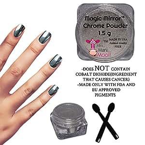 Magic Mirror Silver Chrome Powder 1.5 g NON TOXIC