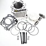 Niche Industries 1914 Yamaha Rhino 660 Cylinder Camshaft Piston Gasket Top End Kit 2004-2007