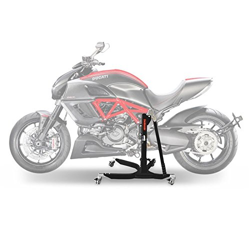 Center Paddock Stand Lift ConStands Power Ducati Diavel 11-18 black mat - Central Stand