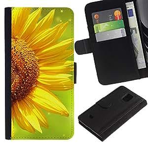 WINCASE (No Para S5) Cuadro Funda Voltear Cuero Ranura Tarjetas TPU Carcasas Protectora Cover Case Para Samsung Galaxy S5 Mini, SM-G800 - tarjetas de skate de arte de la calle de poker