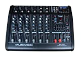 8 Channel Professional 4000 Watts Powered Mixer With USB/SD Slot 16 DSP (Digital Multi-Effects)