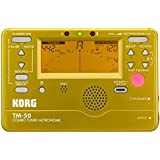 Korg Instrument Tuner and Metronome (Gold)