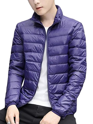 Men's Light Navy Jackets amp;W blue Packable Puffer Warm Down M amp;S Ultra vqEwpqYa