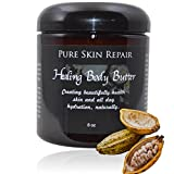 Natural Hydrating Body Butter by PURE SKIN   An Age Defying Daily Moisturizer made with Shea Butter, Coconut Oil, Cocoa Butter, and Essential Oils, 8oz