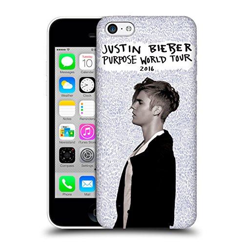 Officiel Justin Bieber Tournée Mondiale 2016 Objectif Étui Coque D'Arrière Rigide Pour Apple iPhone 5c