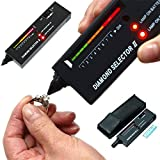 High Accuracy Diamond Tester Professional Jeweler For Novice and Expert - Diamond Selector II 9V Battery Included