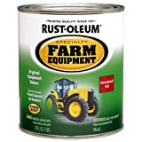 Rust-Oleum 7466502 Specialty Farm Equipment Enamel, International Red, 1-Quart