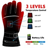 Best Heated Gloves - Electric Heated Gloves with Rechargeable Battery 3 Levels Review
