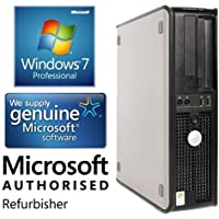 Dell Optiplex 780 Desktop Computer Business PC (Intel Core 2 Duo, 3.0GHz, 4GB Ram, 160GB HDD, WIFI) Windows 7 Professional (Certified Refurbished)