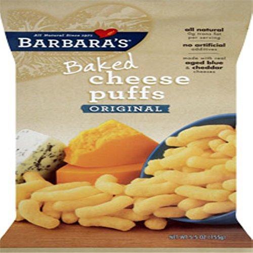 Barbara's Bakery, Baked Cheese Puffs, Original, 5.5 oz(Pack of 3)