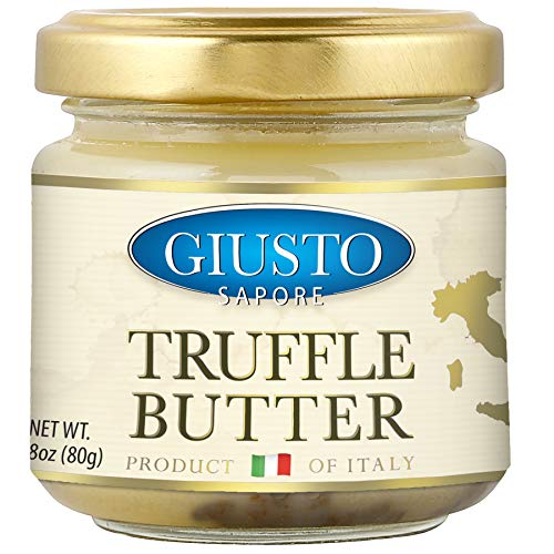 Giusto Sapore Italian Truffle Butter 2.8oz. - Premium Gourmet Butter - Imported from Italy and Family ()