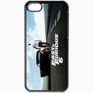 Personalized iPhone 5C Cell phone Case/Cover Skin Fast And Furious 6 Black