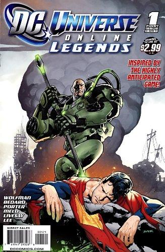 Download DC Universe Online Legends 1 - Variant Cover ebook