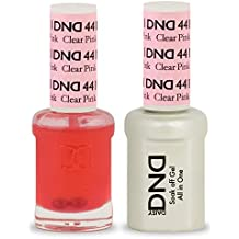 DND GEL POLISH / NAIL LACQUER DUO - 441 - CLEAR PINK 15ML by DND