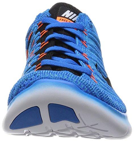 gmm Orng Corsa photo Bl ttl blk Blue Scarpe Free Da Blu Nike Rn Uomo Flyknit RPqW16