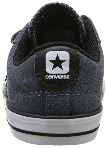 Converse Star Player Ox - Zapatillas Unisex Niños Anthracite 122