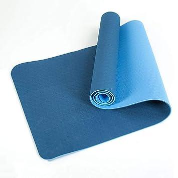 ZHENYANG Colchoneta de Yoga Multifuncional Larga y Gruesa ...