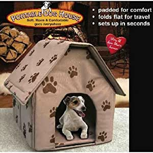 Amazon Com Portable Dog House Soft Warm And