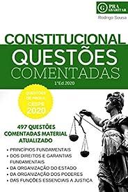 Direito Constitucional 497 Questões Comentadas 2020: PraGabaritar Direito Constitucional (PraGabaritar Concurs