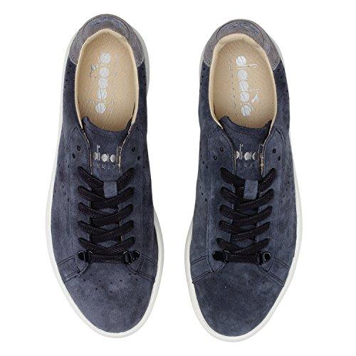 Sneakers Heritage Kidskin per H Uomo Donna Game Ebano Blu Diadora e 60067 1Zxd5qWw1I