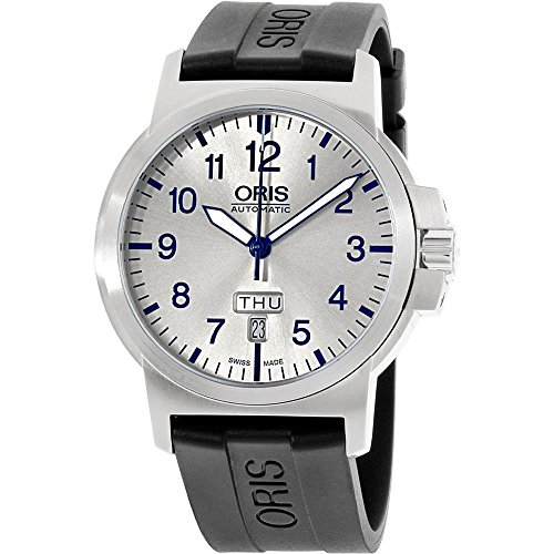 Oris-BC3-Silver-Dial-Silicone-Strap-Mens-Watch-73576414161RS