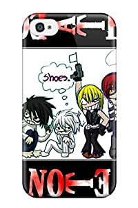 Iphone 4/4s Case Cover Skin : Premium High Quality Chibi Style Death Note Case