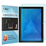 [3-Pack] Lenovo Tab 4 10-inch Android Tablet Screen Protector, J&D Premium HD Clear Film Shield Screen Protector for Lenovo Tab 4 10-inch Android Tablet