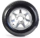 Sendel Wheel 13 x 5 T02 Aluminum Trailer Wheel/175/80R-13 Radial Tire Assembly